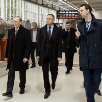 Dmitry Livanov visits JINR